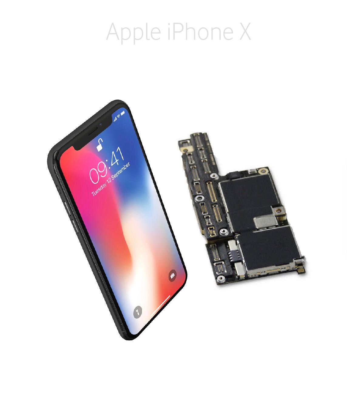 Avancerad lödning iPhone X