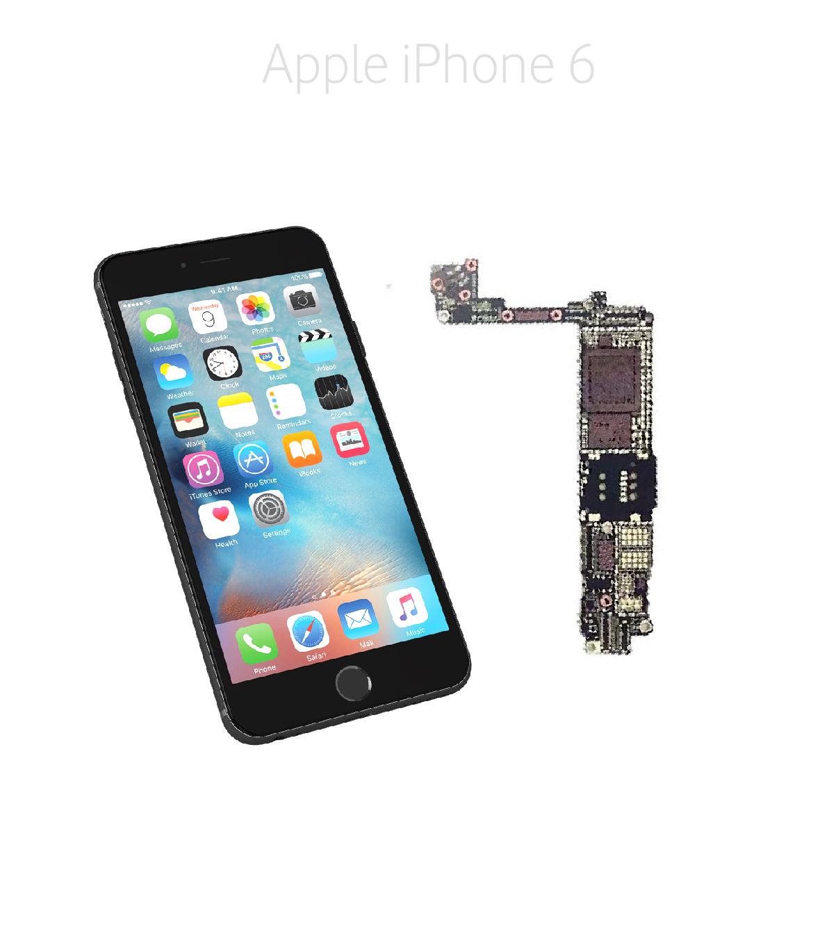 Avancerad lödning iPhone 6