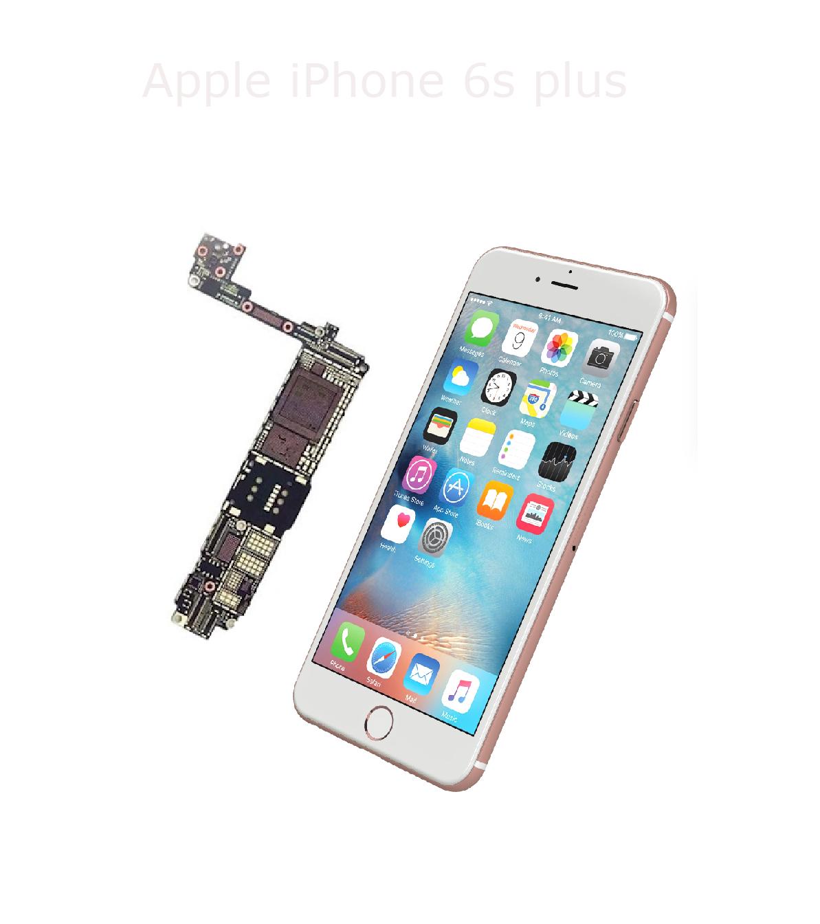 Avancerad lödning iPhone 6s plus