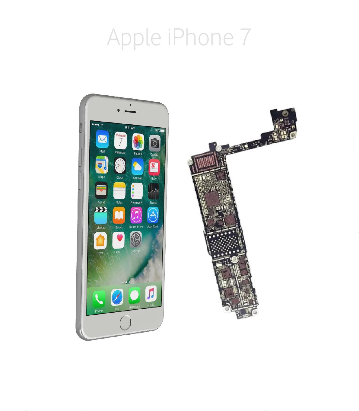 Avancerad lödning iPhone 7