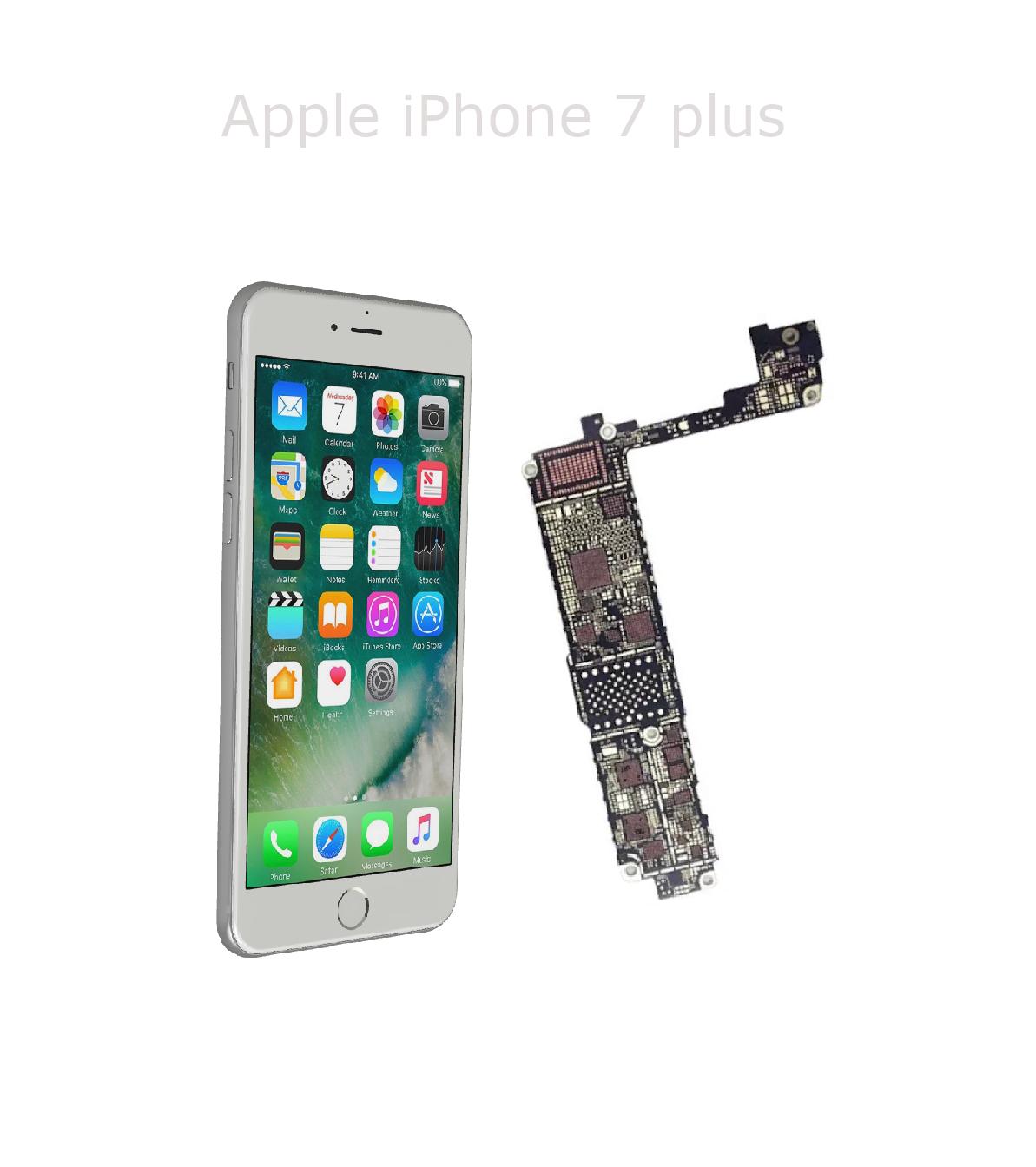 Avancerad lödning iPhone7 plus