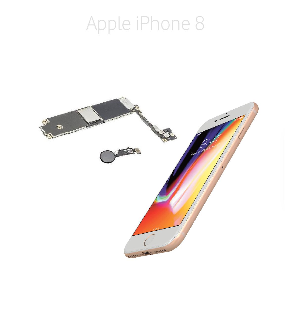 Avancerad lödning iPhone 8