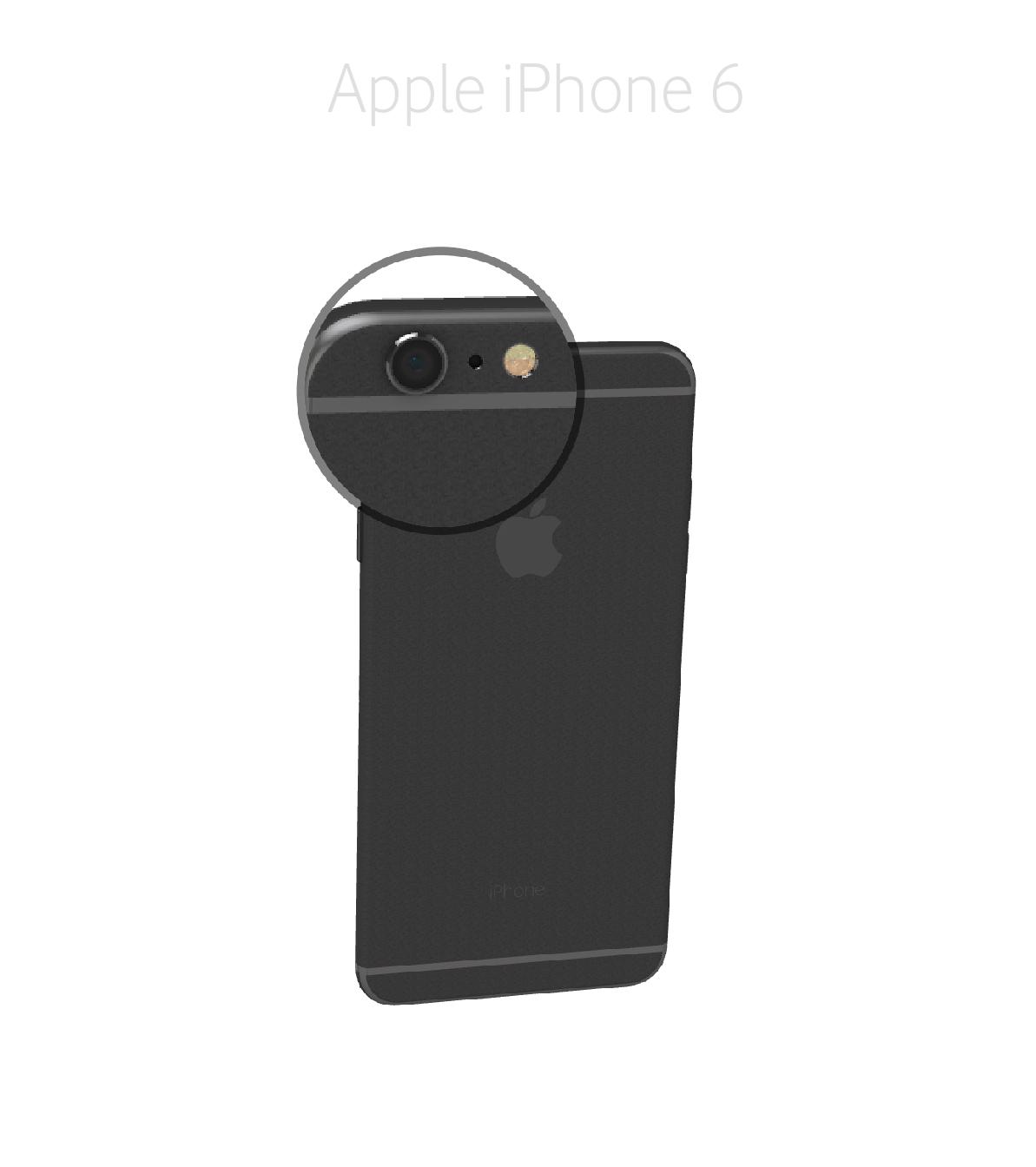 Laga kamera iPhone 6
