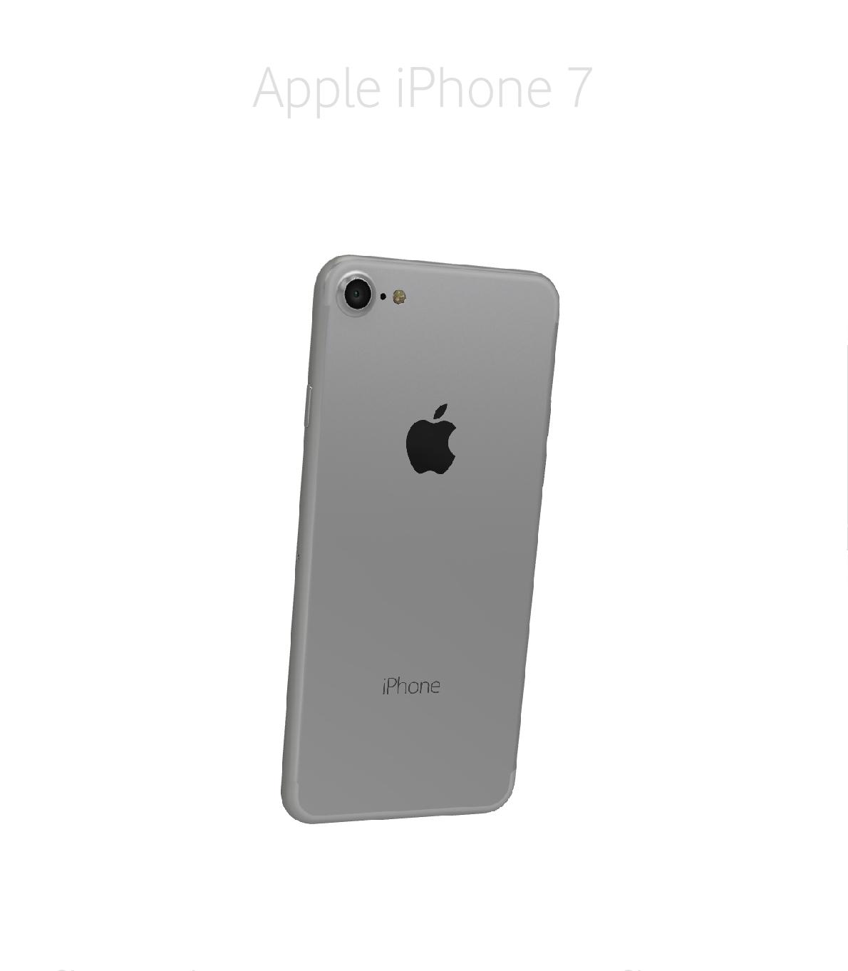Laga baksida/chassi iPhone 7