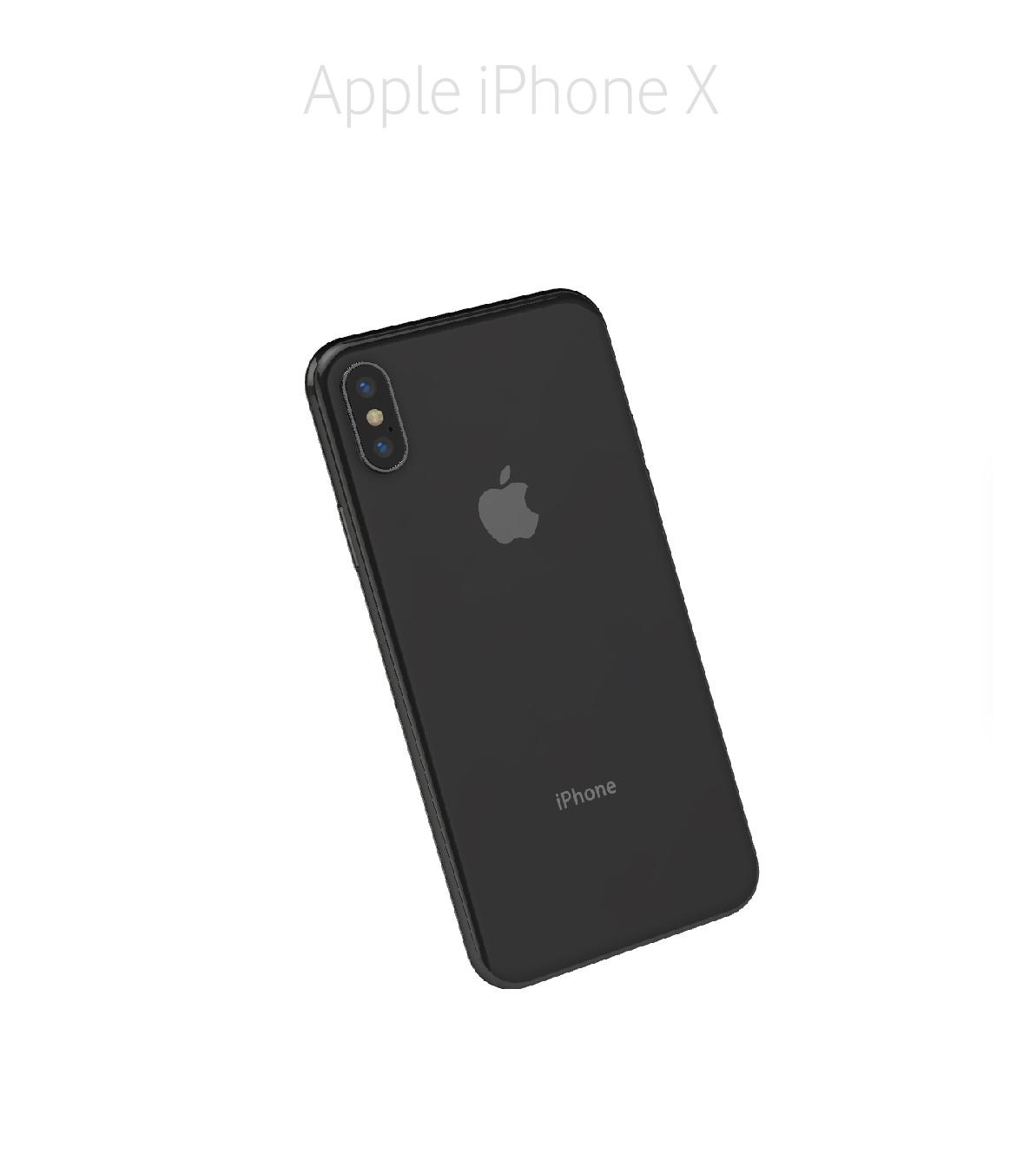 Laga glas baksida iPhone X