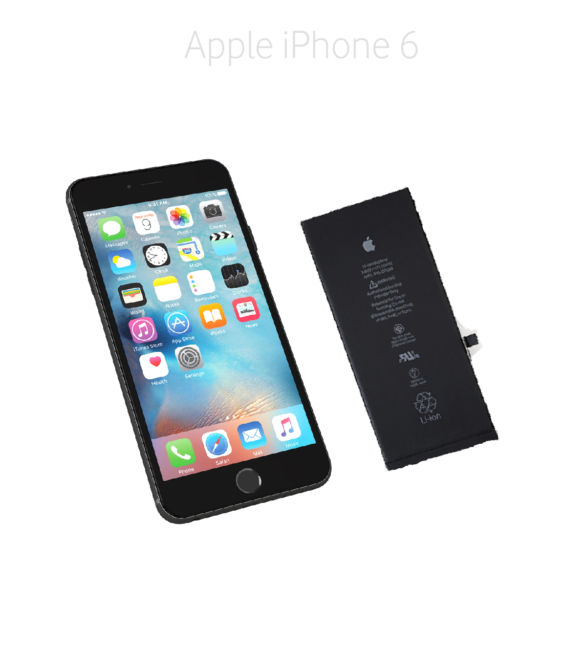 Byta batteri iPhone 6