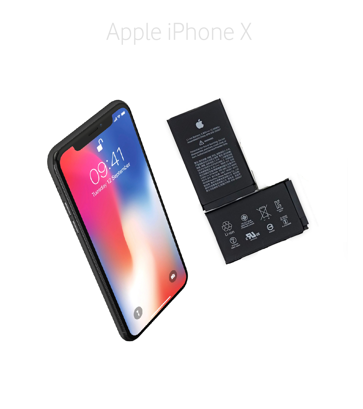 Byta batteri iPhone X
