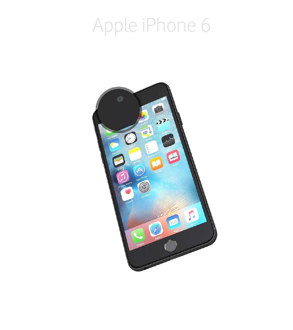 Laga ljussensor iPhone 6