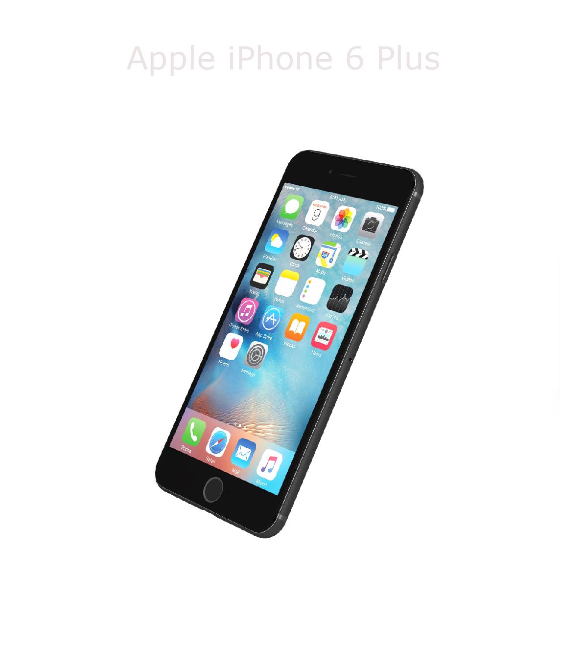 Laga framsida/glas/skärm iPhone 6 plus