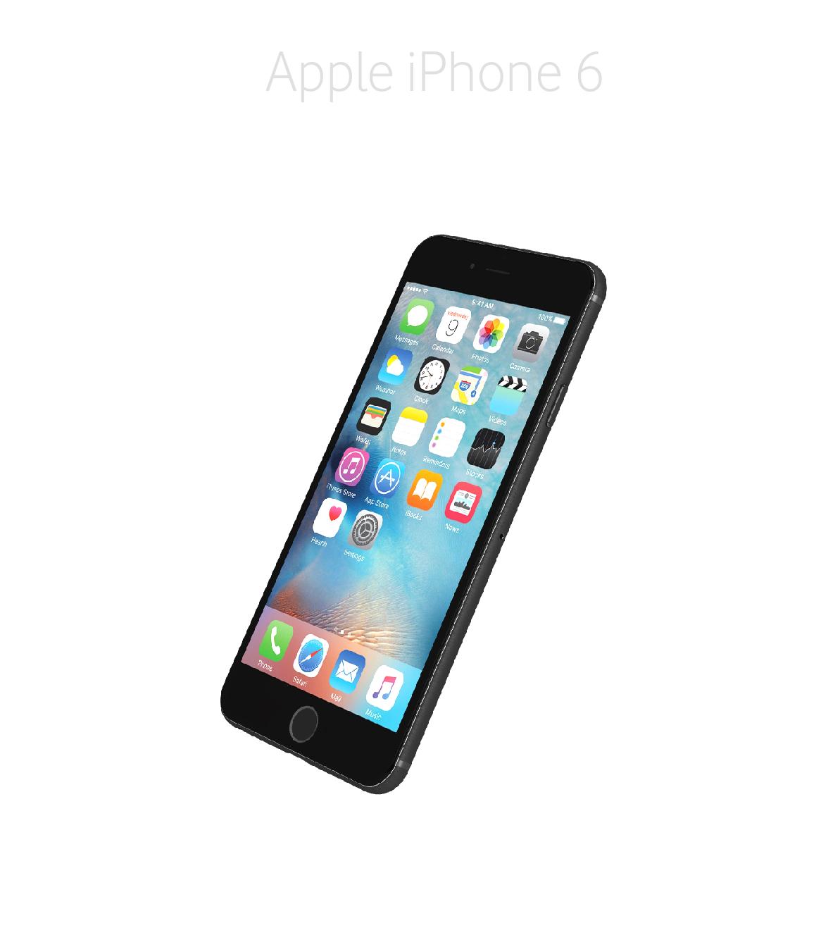 Laga framsida/glas/skärm iPhone 6