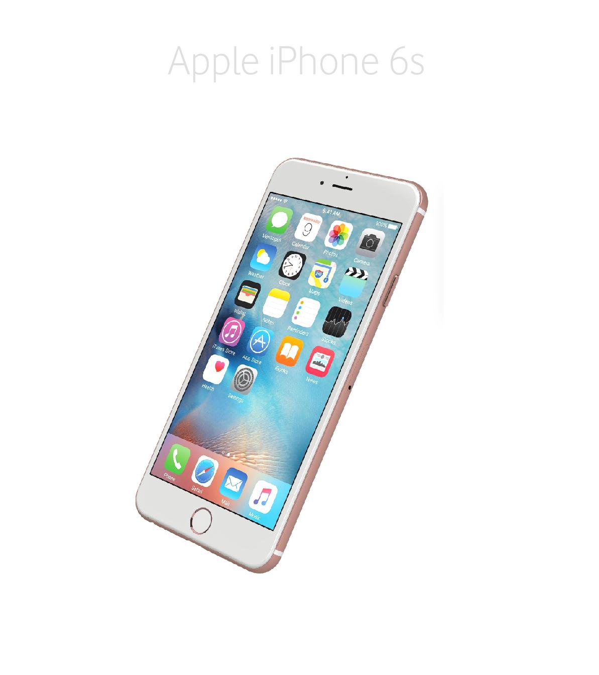 Laga framsida/glas/skärm iPhone 6s