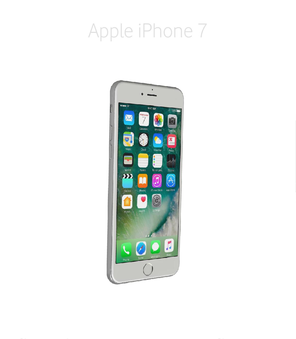 Laga framsida/glas/skärm iPhone 7