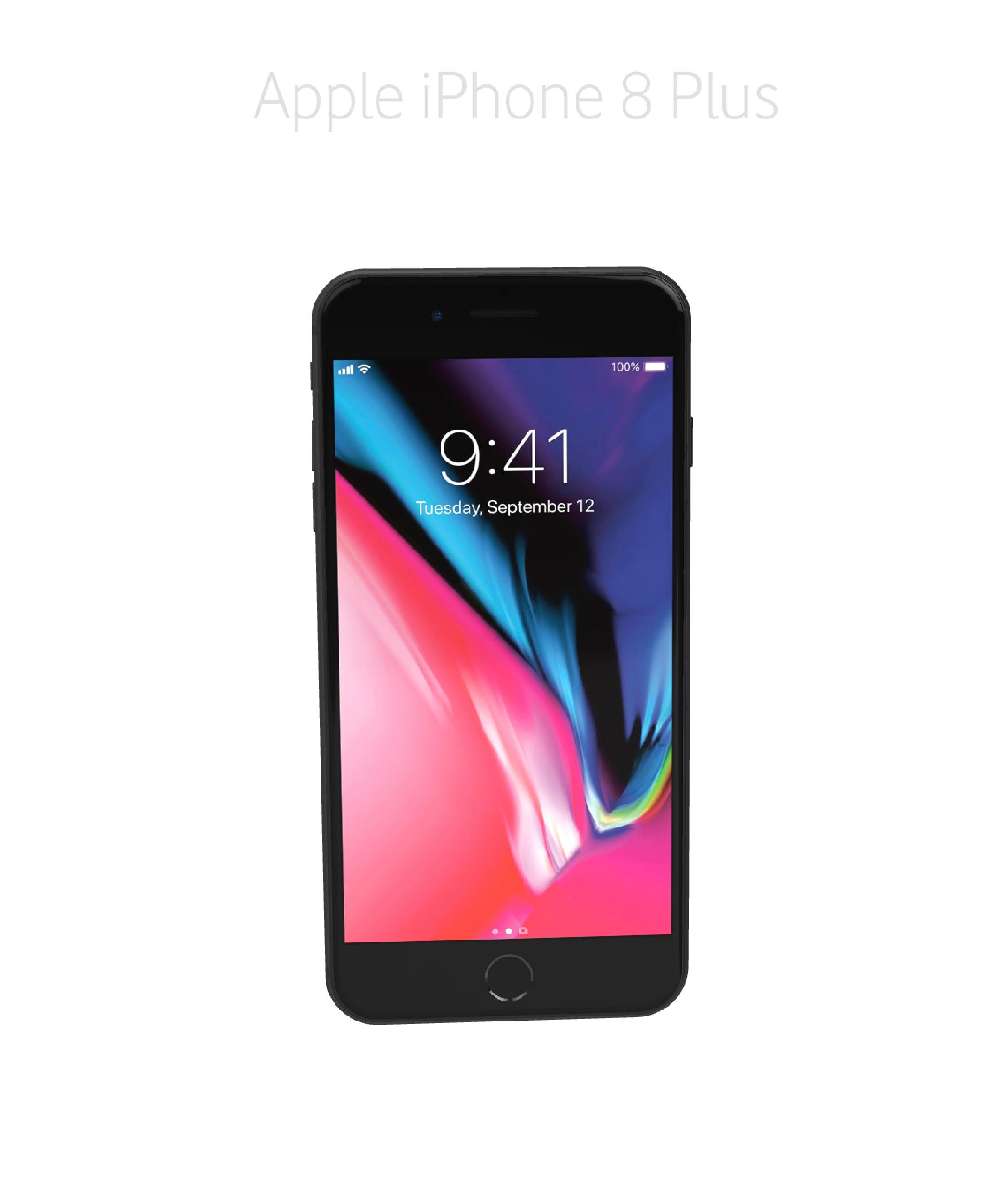 Laga framsida/glas/skärm iPhone 8 plus