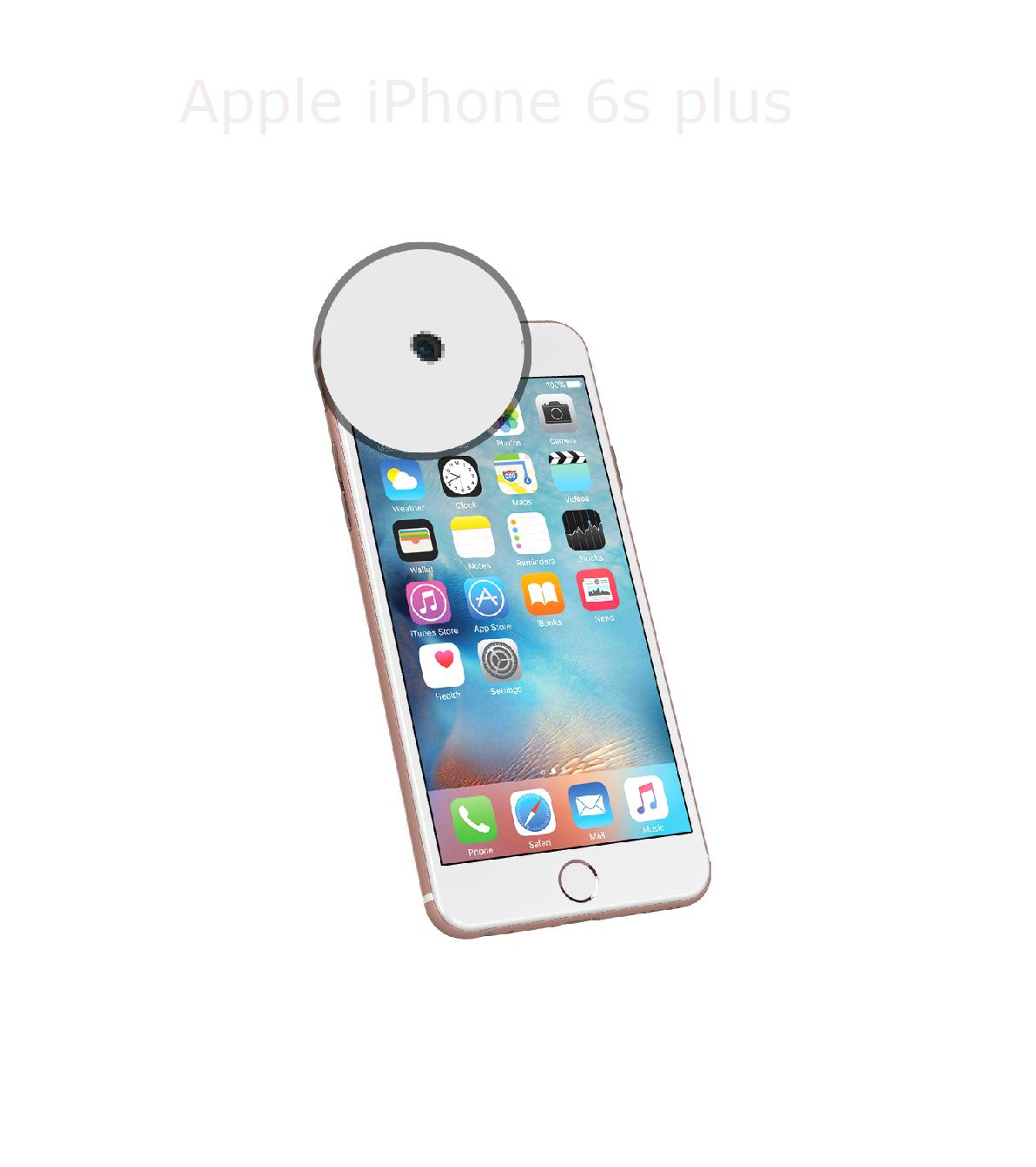 Laga kamera (selfie) iPhone 6s plus