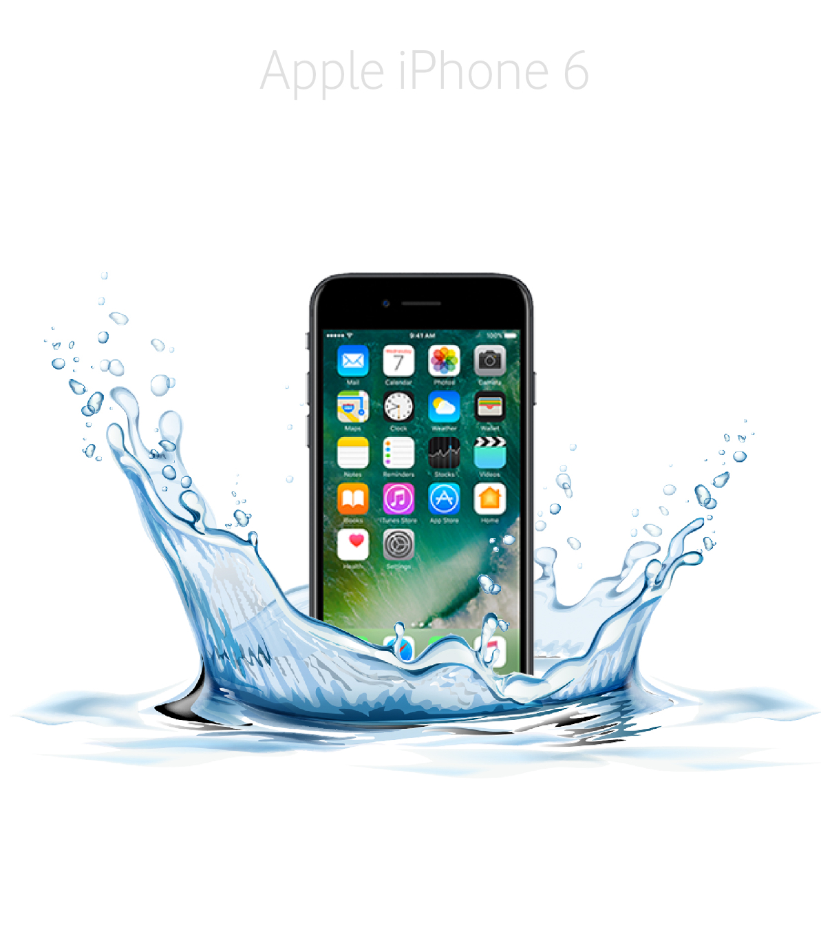 Laga fukt/vattenskadad iPhone 6