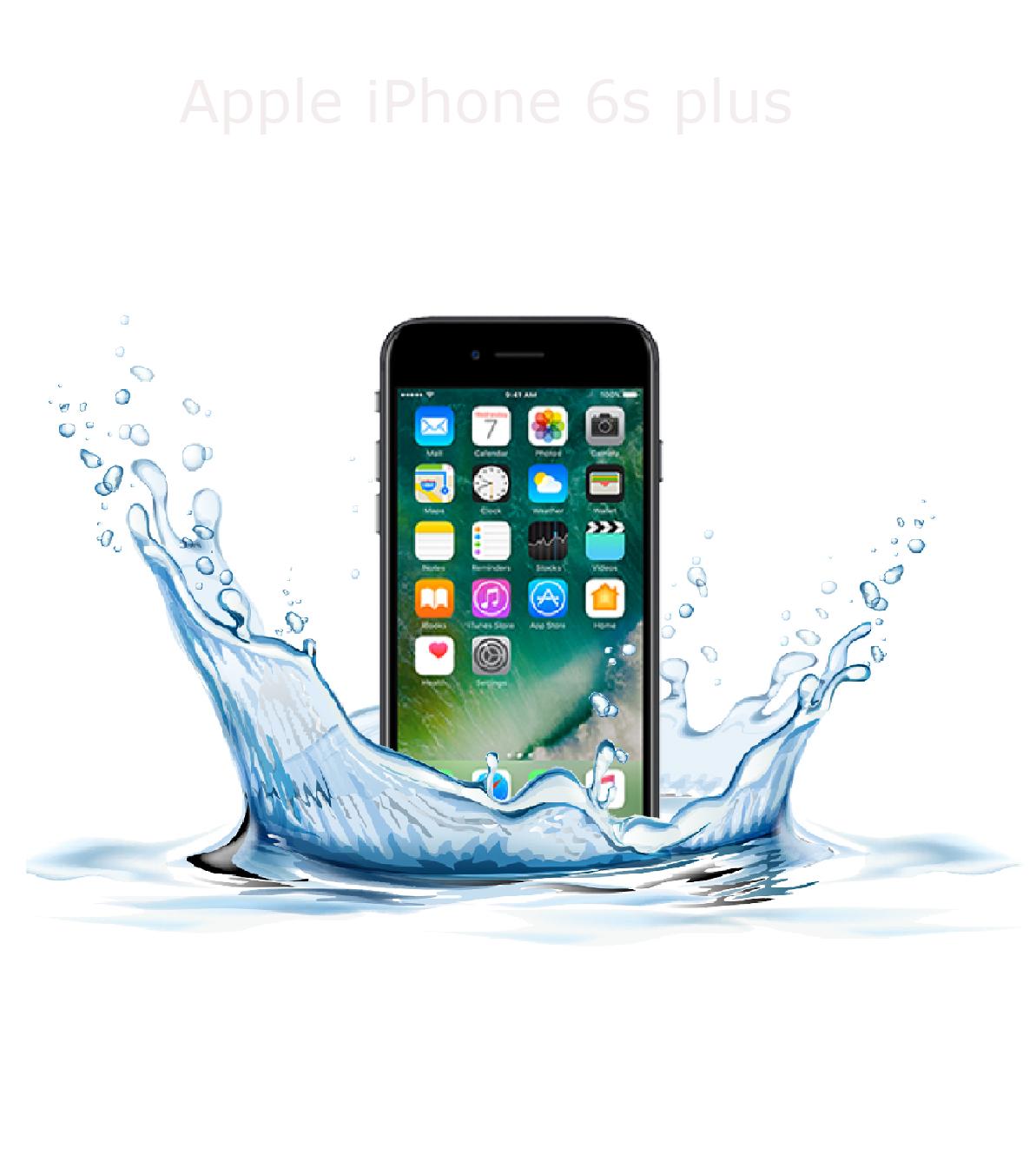 Laga fukt /vattenskadad iphone 6s plus
