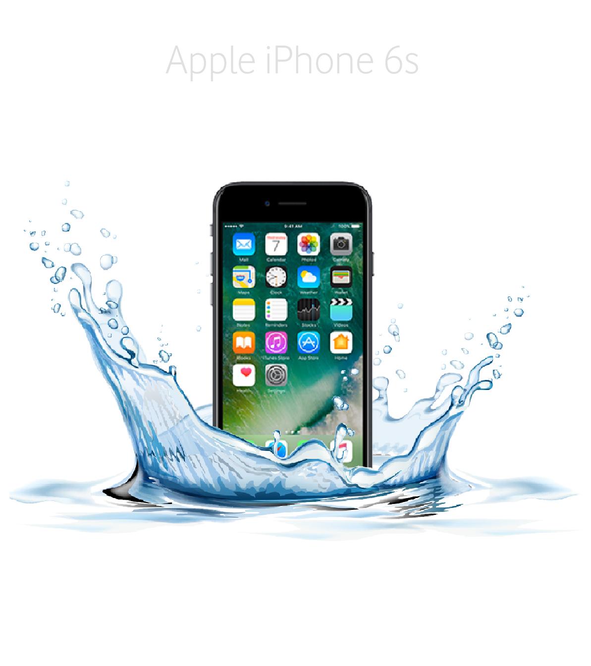 Laga fukt/vattenskadad iPhone 6s