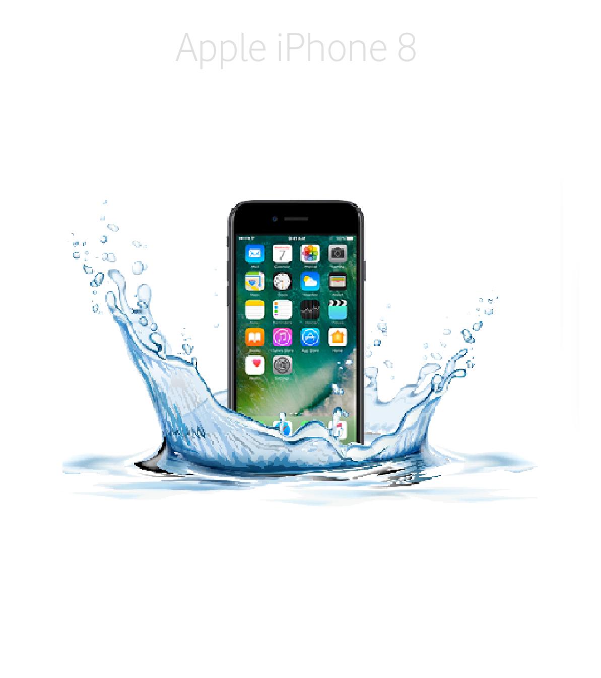 Laga fukt/vattenskadad iPhone8