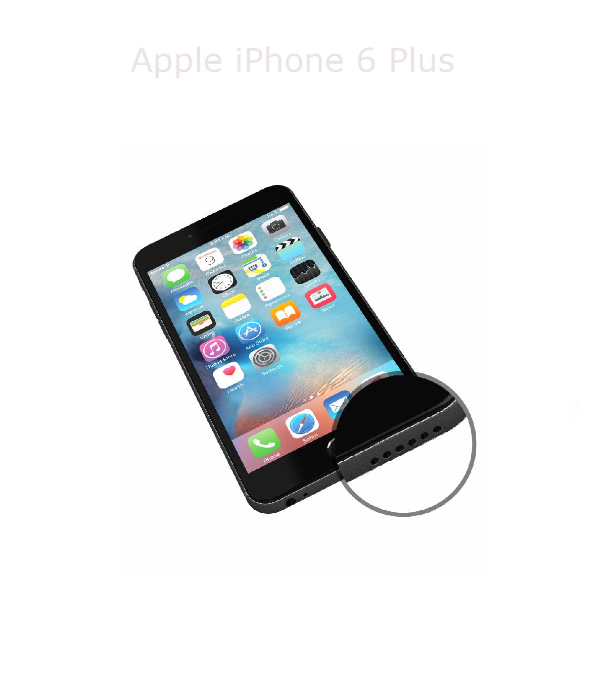 Laga högtalare iPhone 6 plus