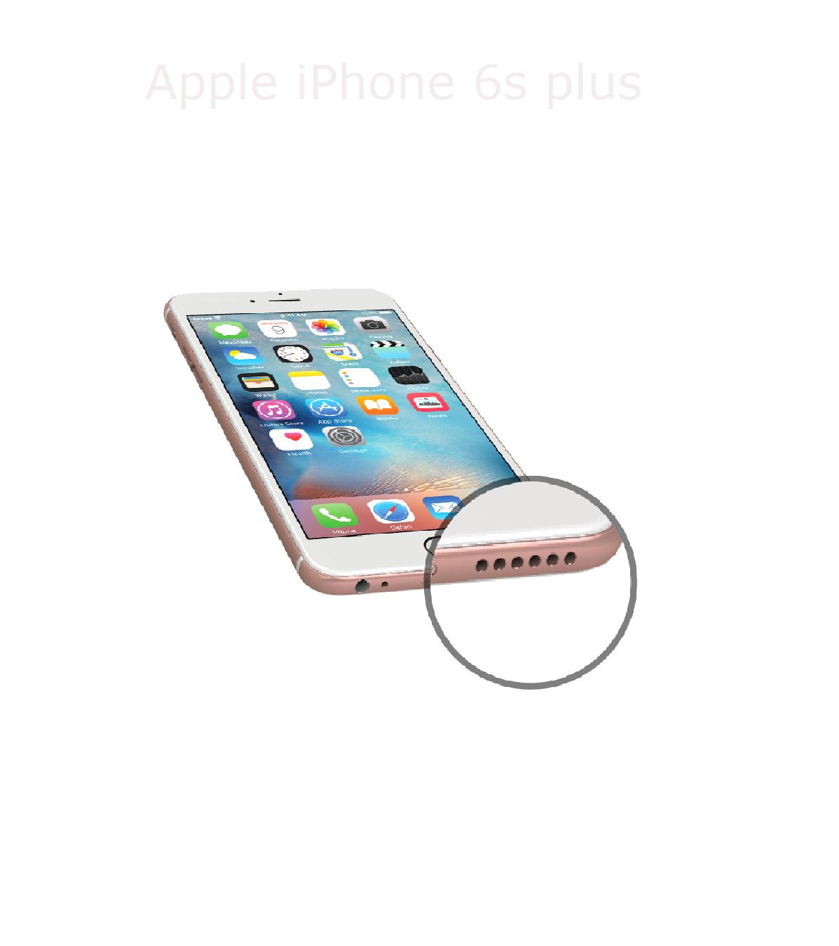 Laga högtalare iPhone 6s plus