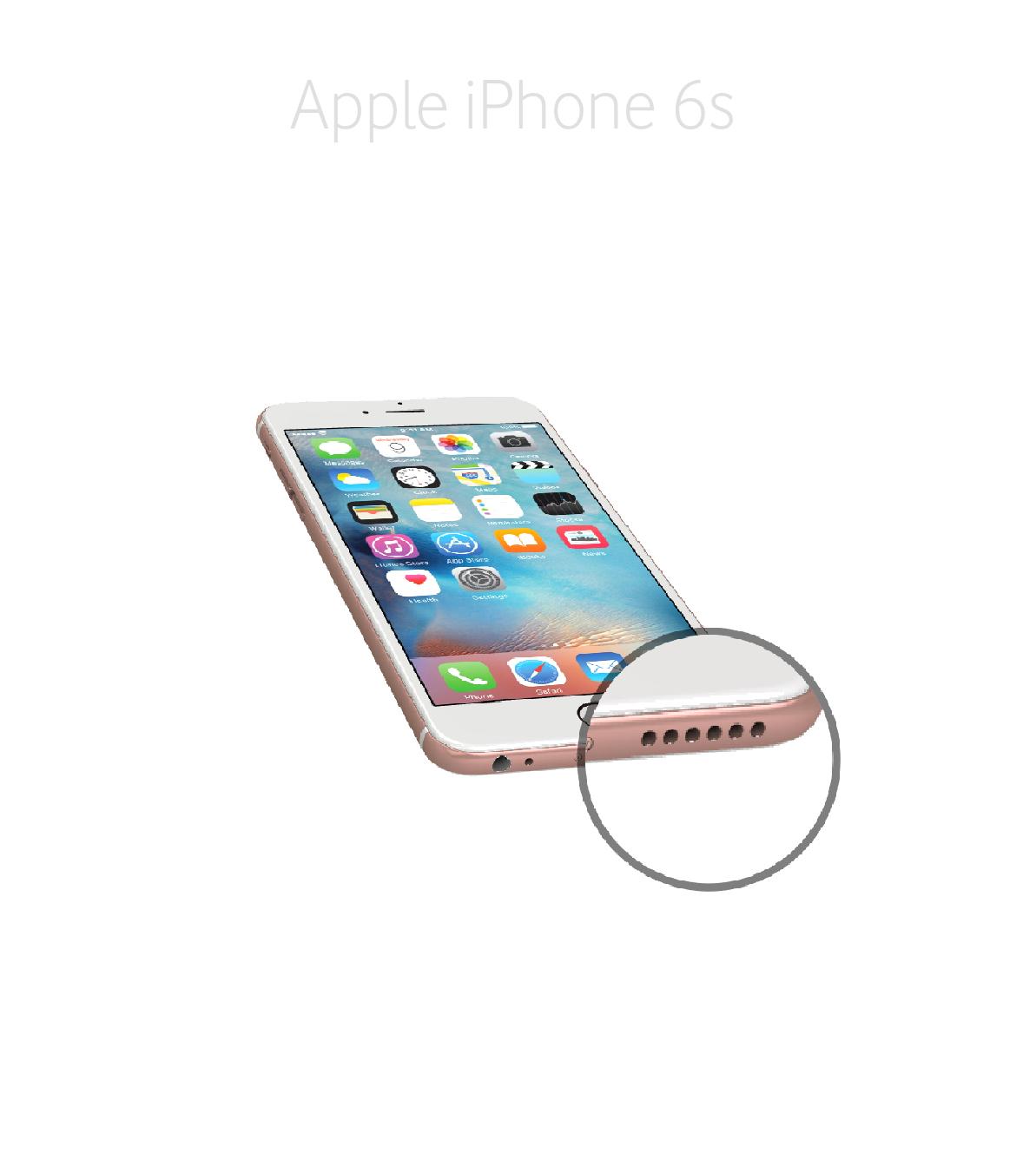 Laga högtalare iPhone 6s