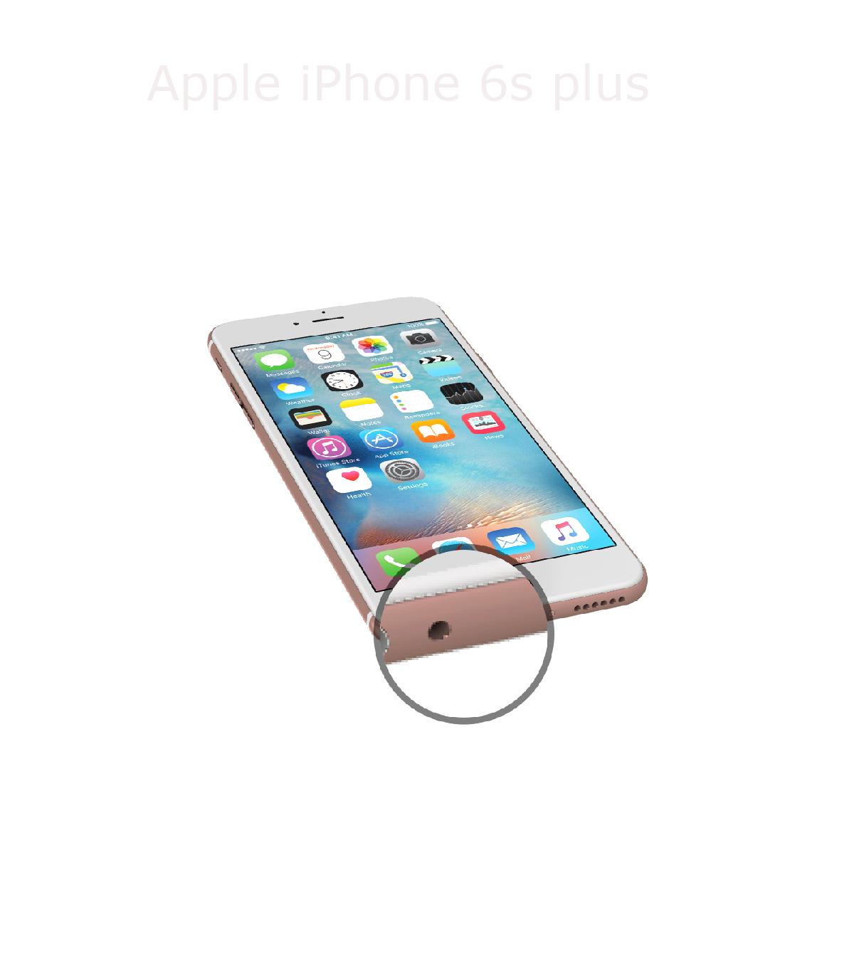 Laga mikrofon iPhone 6s plus