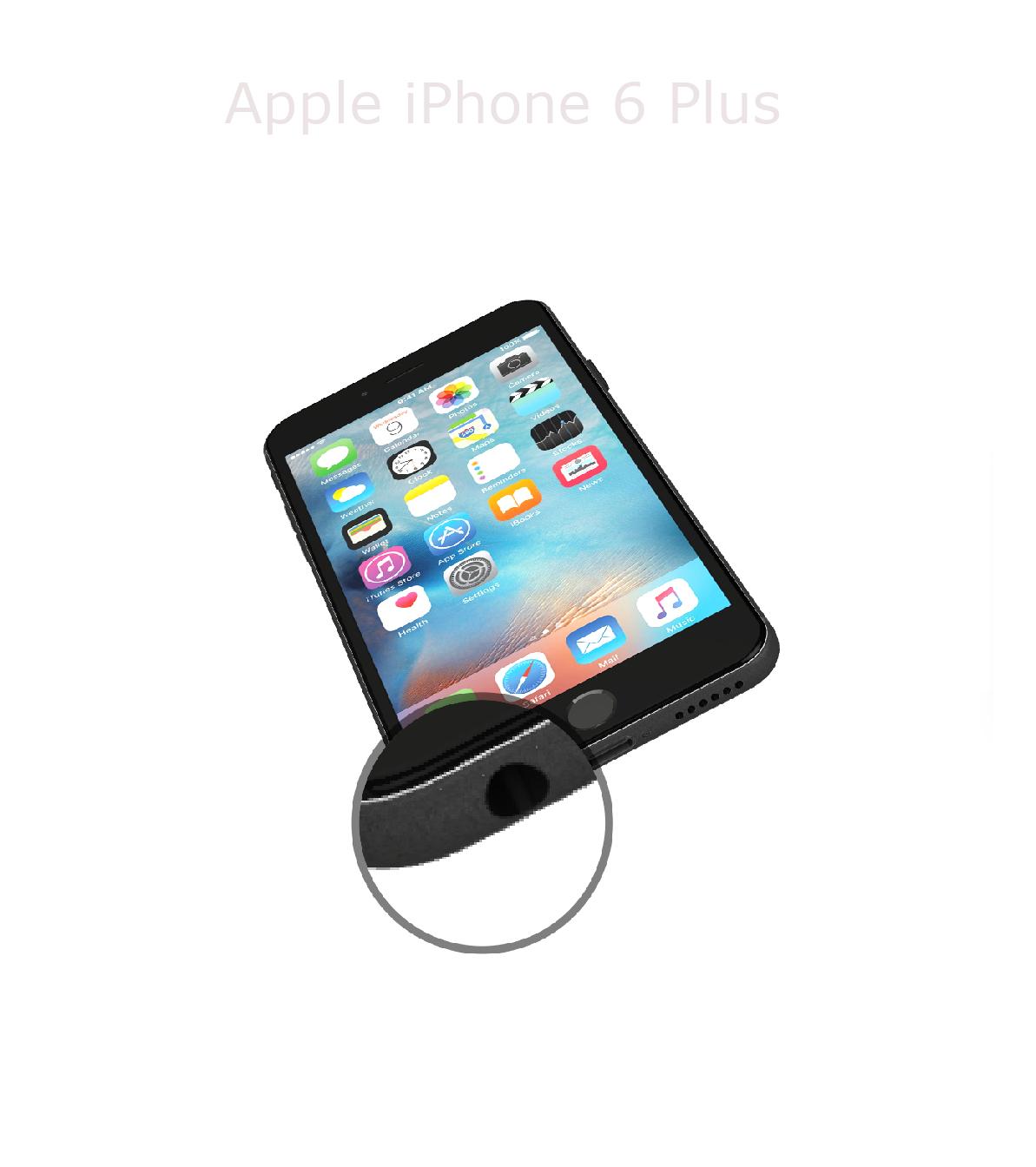 Laga audiokontakt iPhone 6 plus