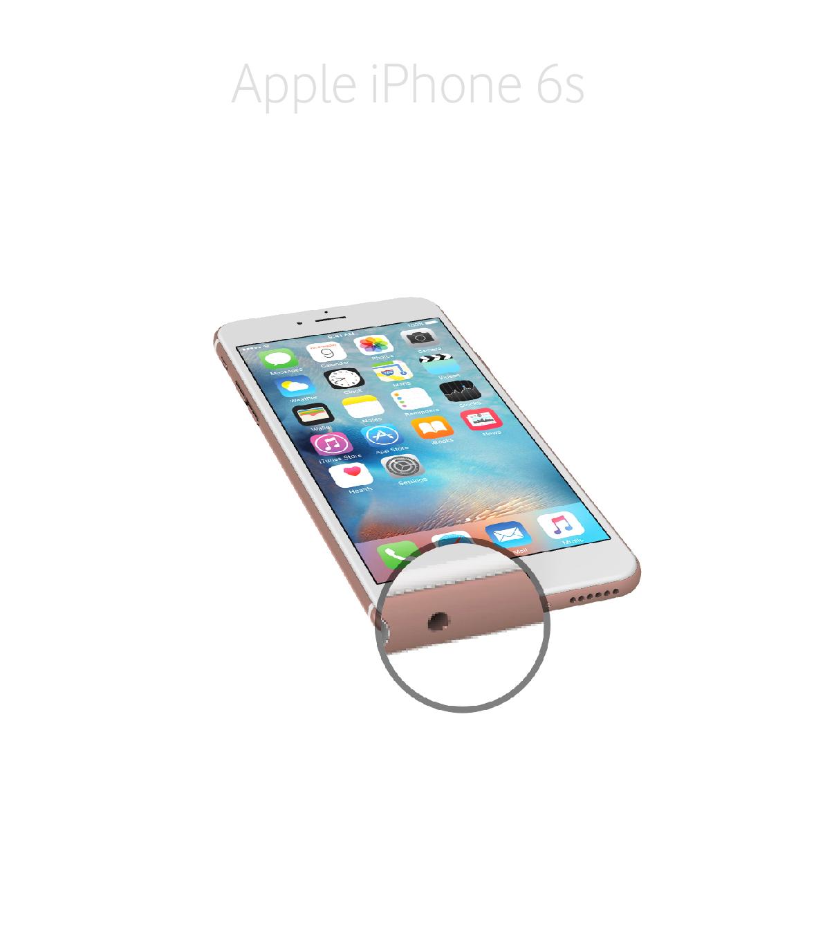 Laga audiokontakt iPhone 6s