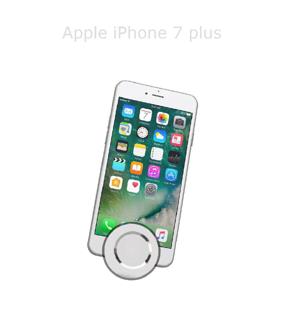 Laga hemknapp iPhone 7 plus