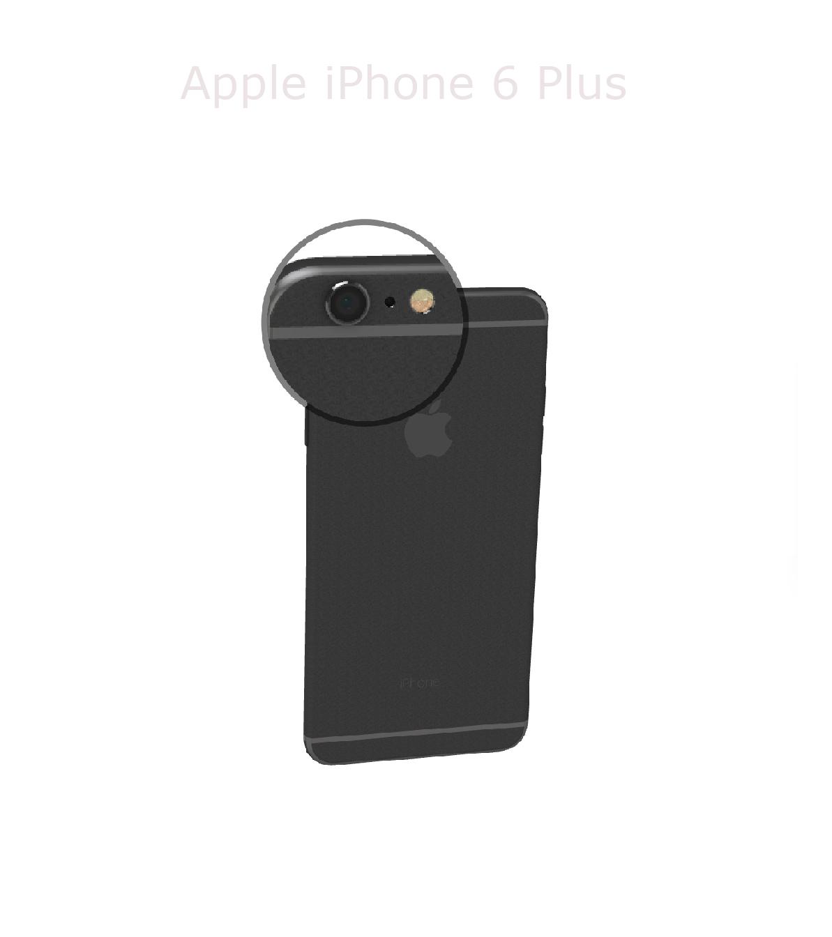 Laga kamera iPhone 6 plus