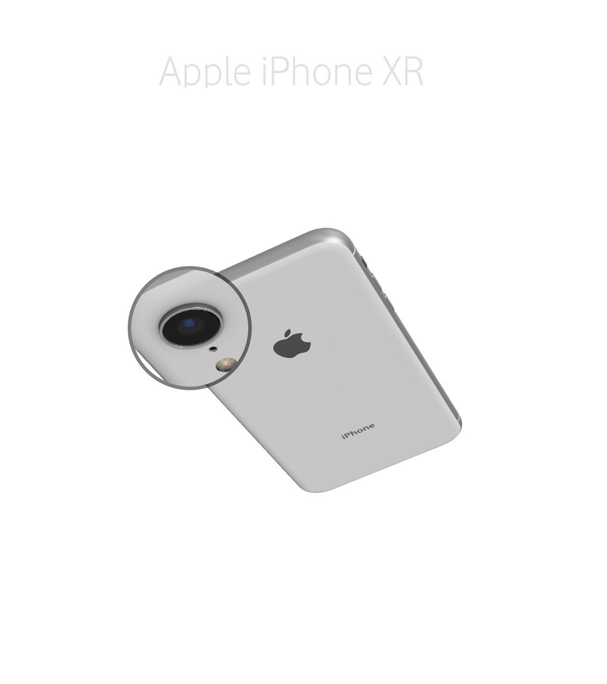 Laga kameralins iPhone XR