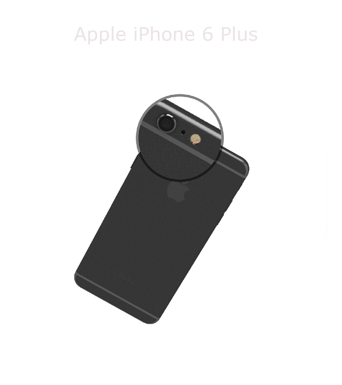 Laga mikrofon kamera iPhone 6 plus