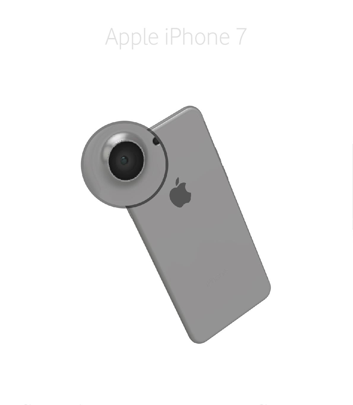 Laga kameralins iPhone