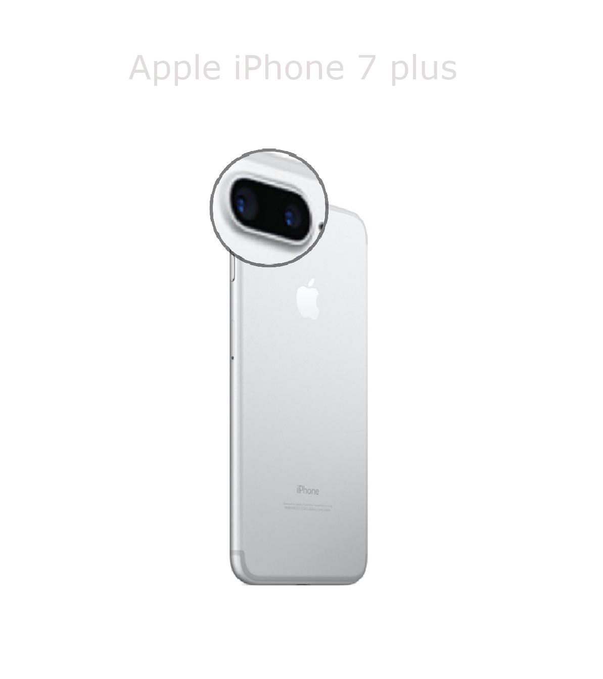 Laga kameralins iPhone 7 plus