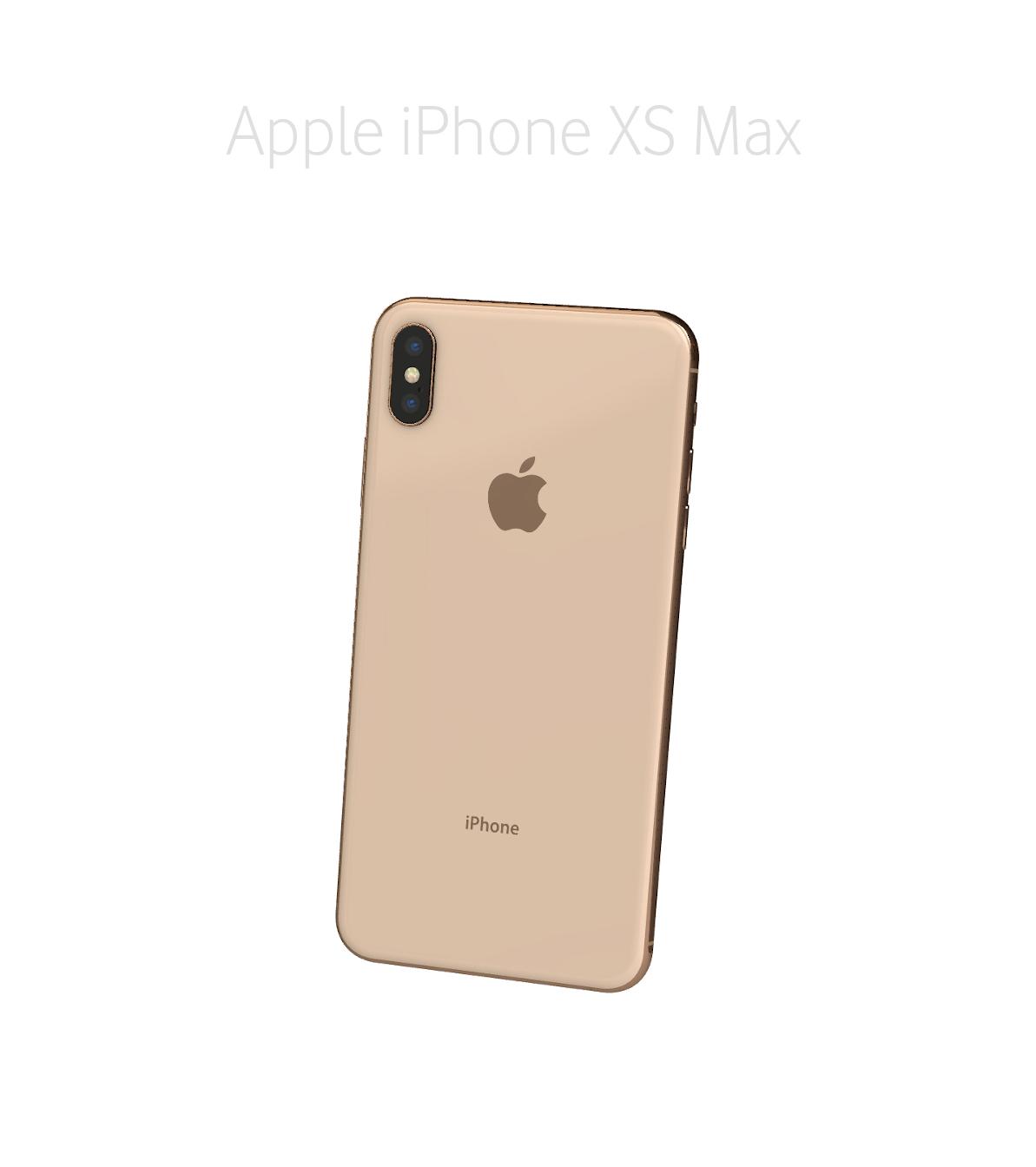 Laga glas/baksida iPhone Xs Max