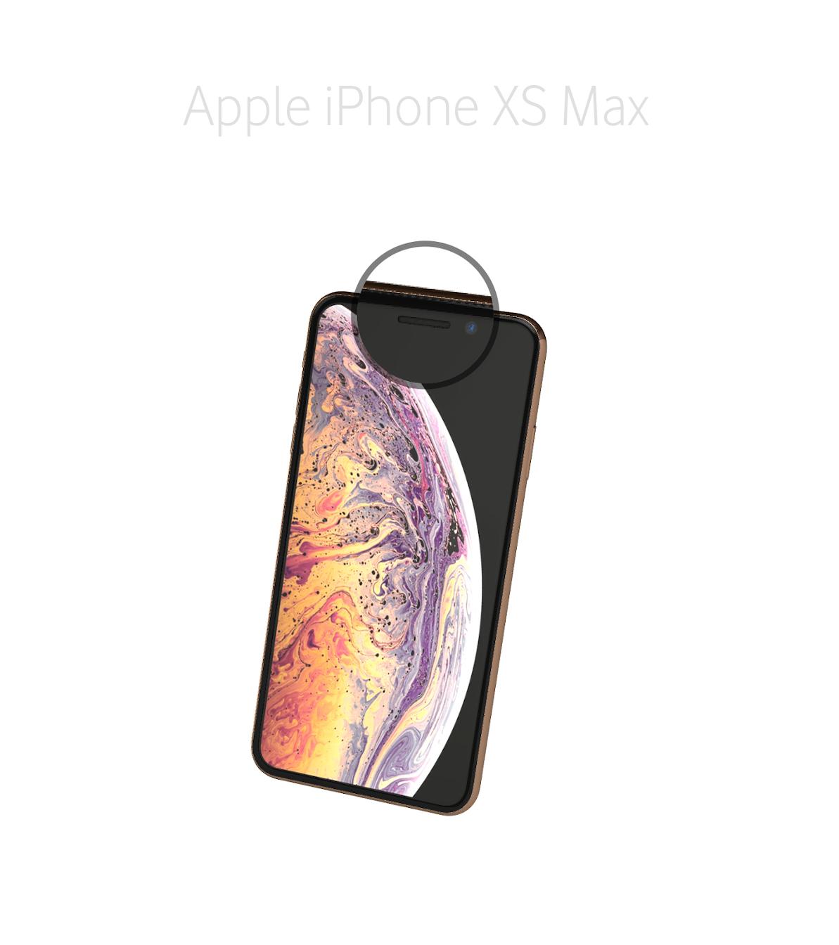 Laga kamera (selfie) iPhone Xs Max