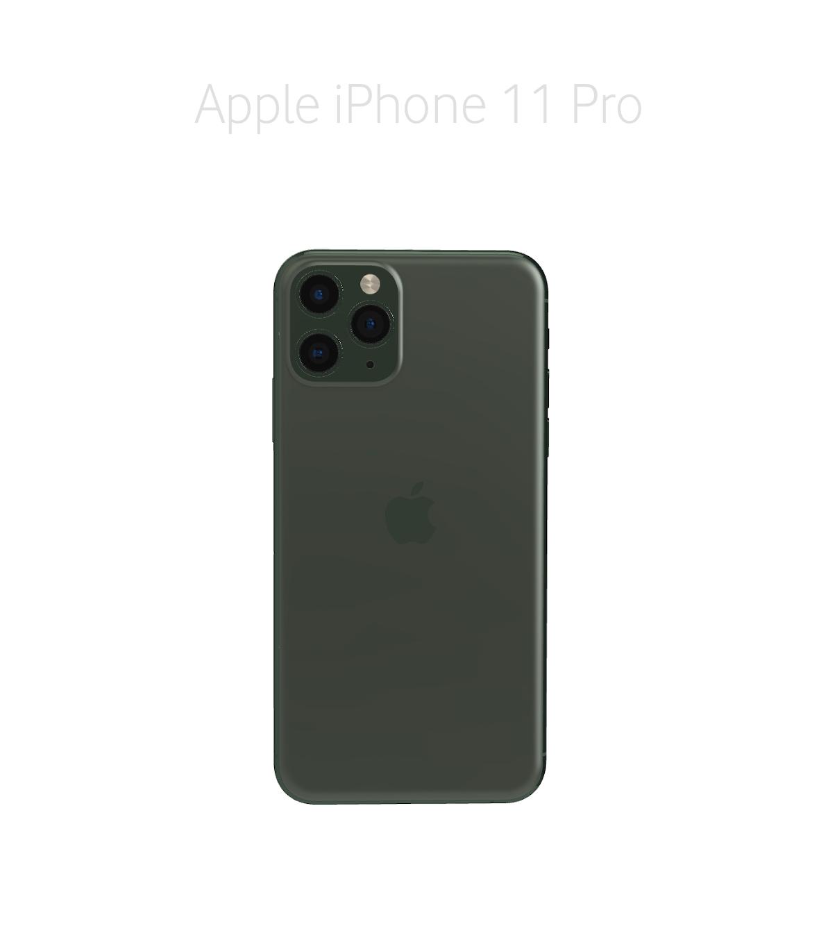 Laga glas/baksida iPhone 11 Pro