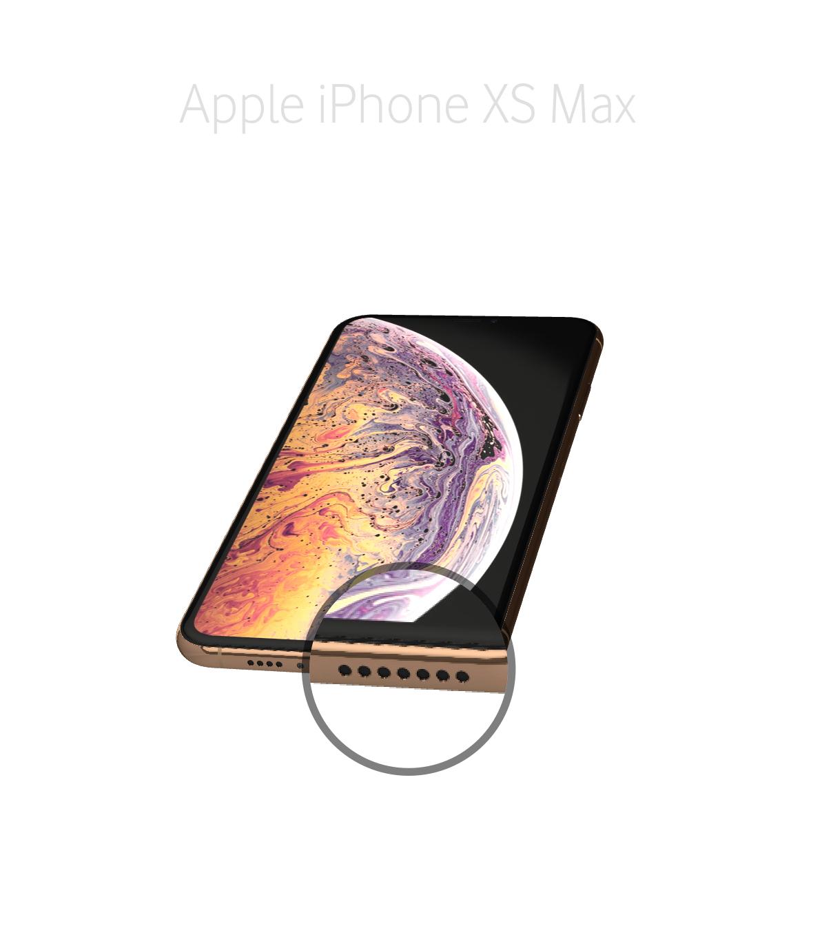 Laga högtalare iphone Xs Max