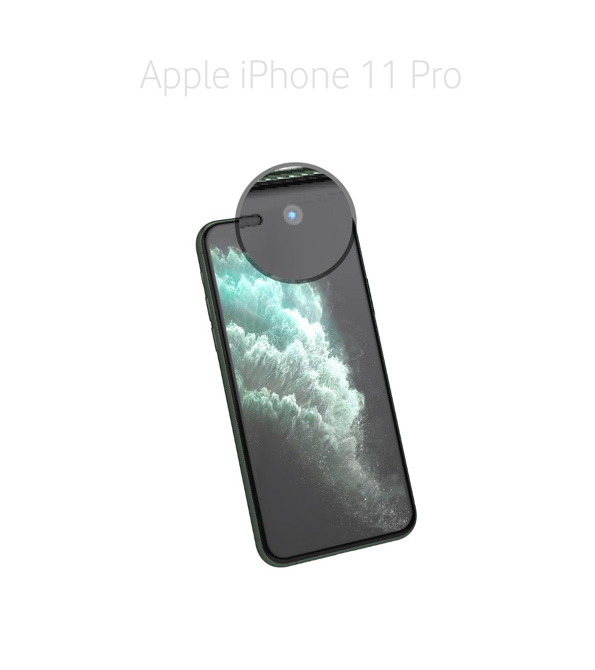 Laga kamera (selfie) iPhone 11 Pro