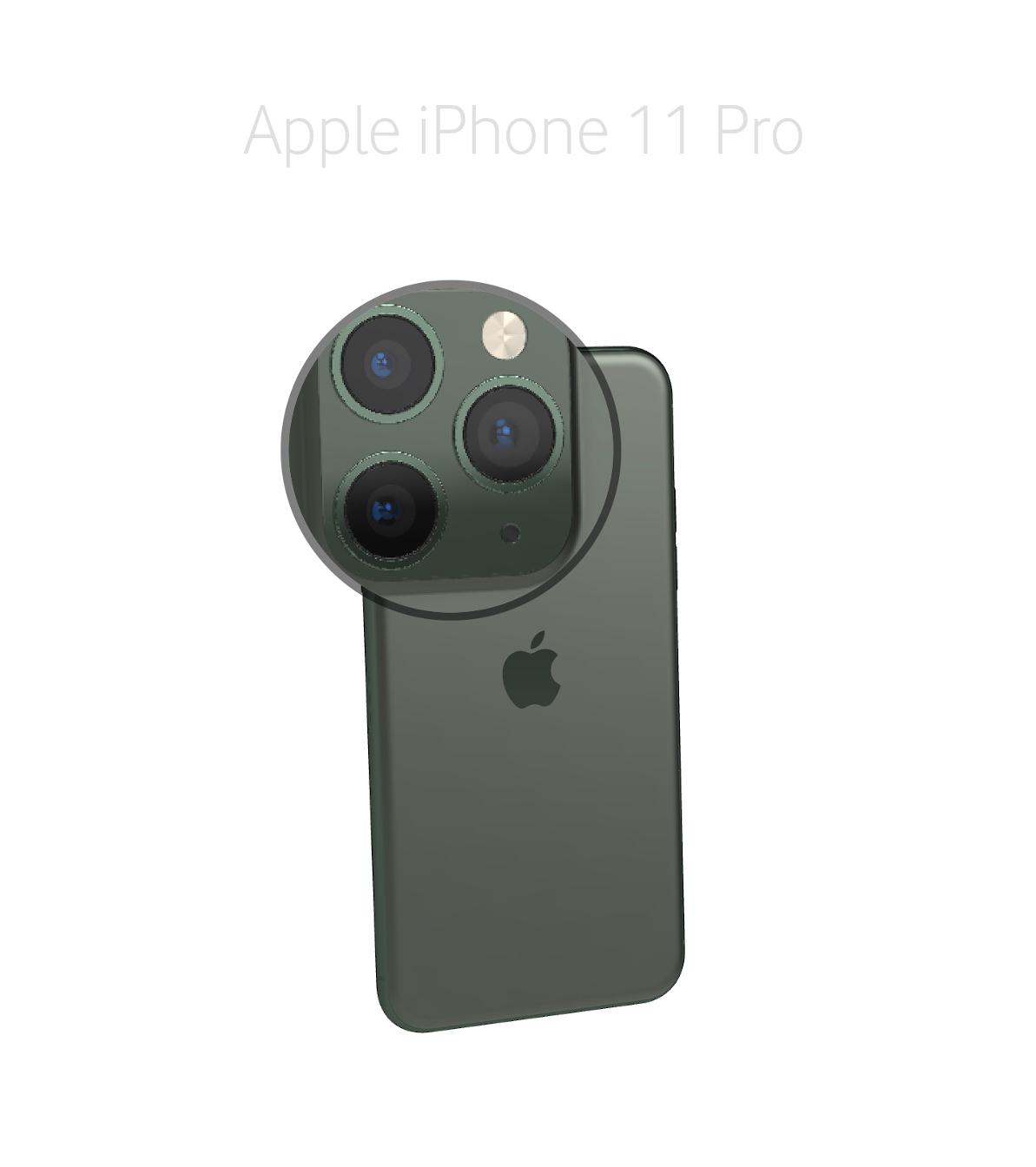 Laga mikrofon Kamera iPhone 11 Pro