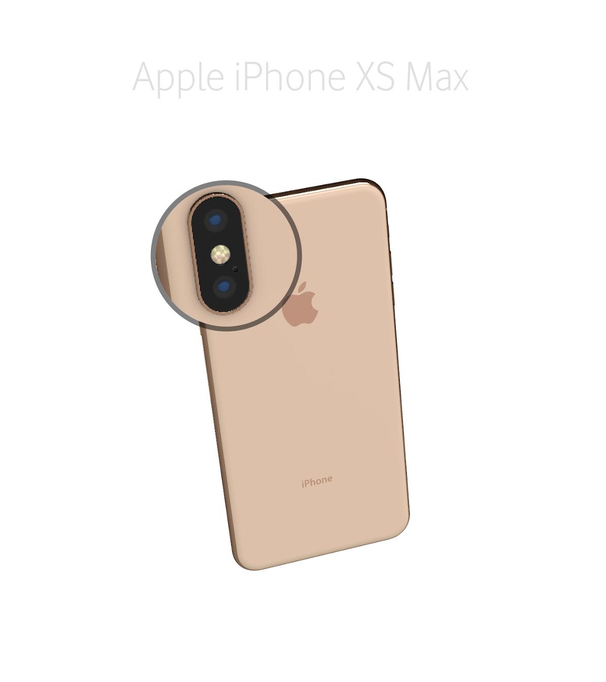Laga mikrofon kamera iPhone Xs Max