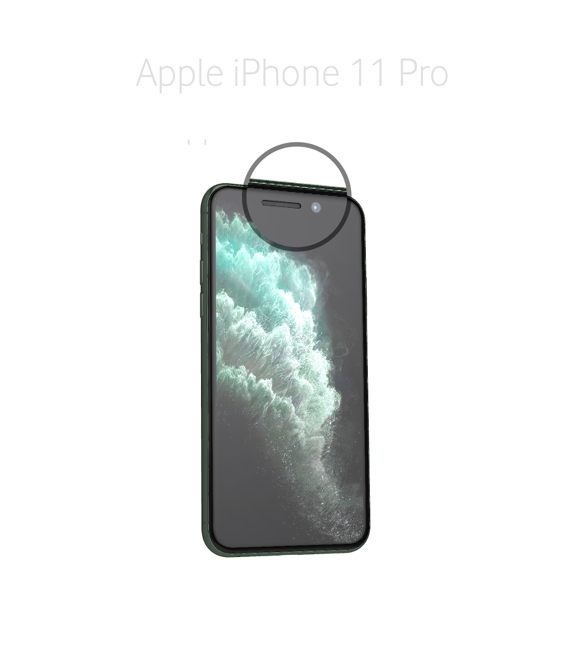 Laga samtalshögtalare iPhone 11 Pro