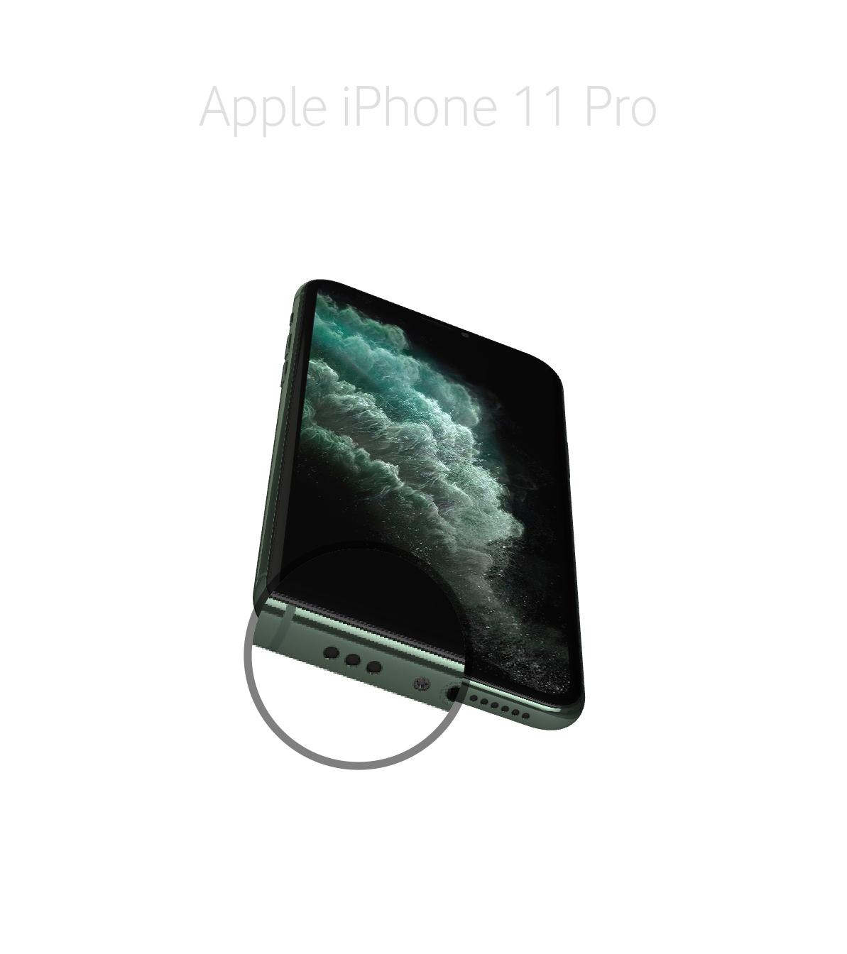 Laga mikrofon iPhone 11 Pro