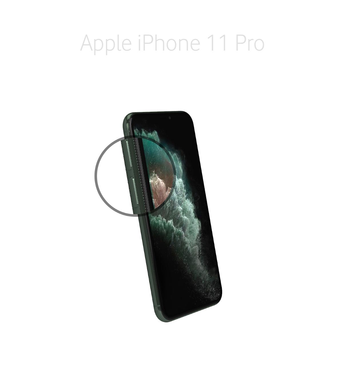 Laga volym/muteknapp iPhone 11 Pro