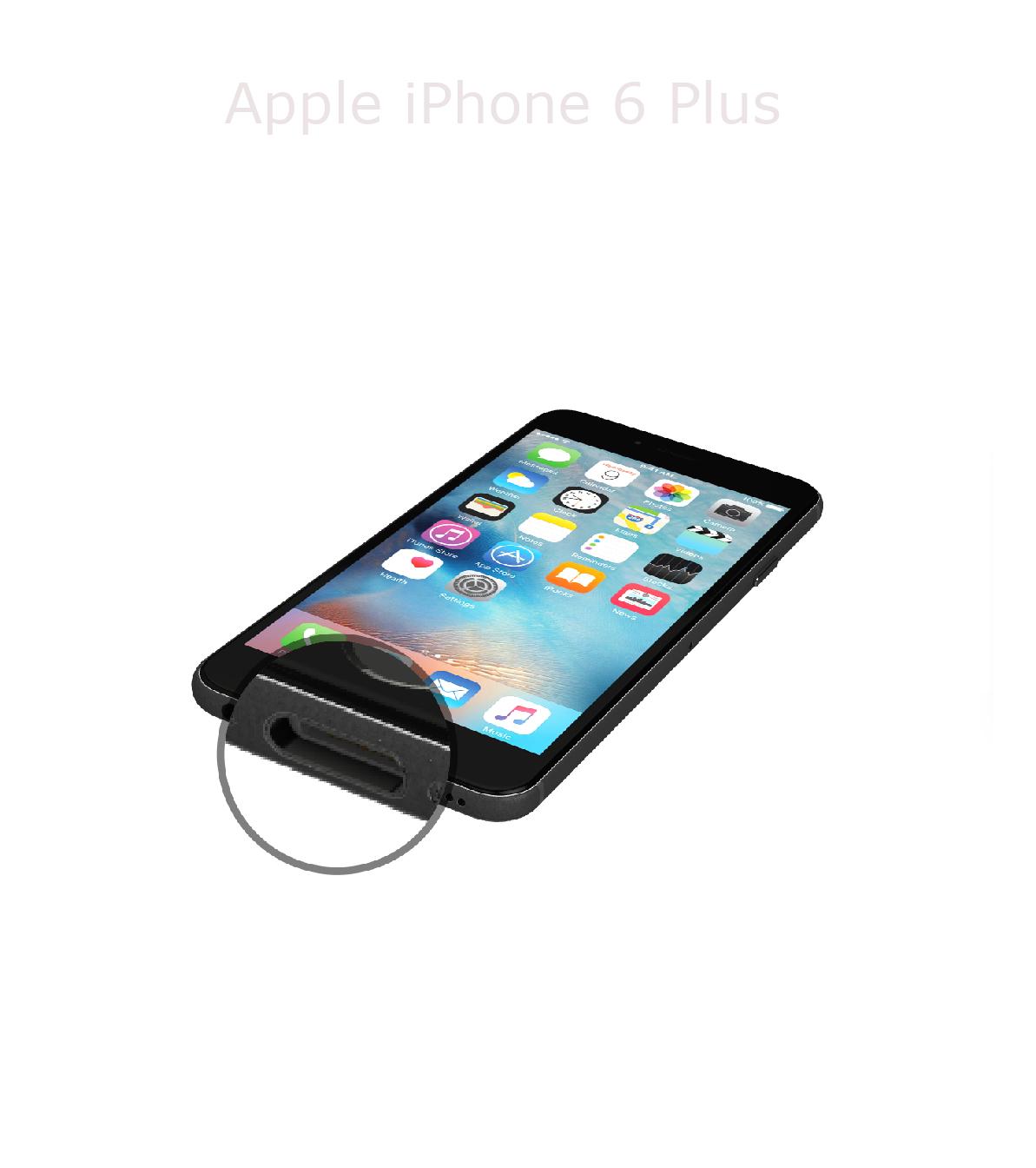 Laga laddkontakt iPhone 6 plus