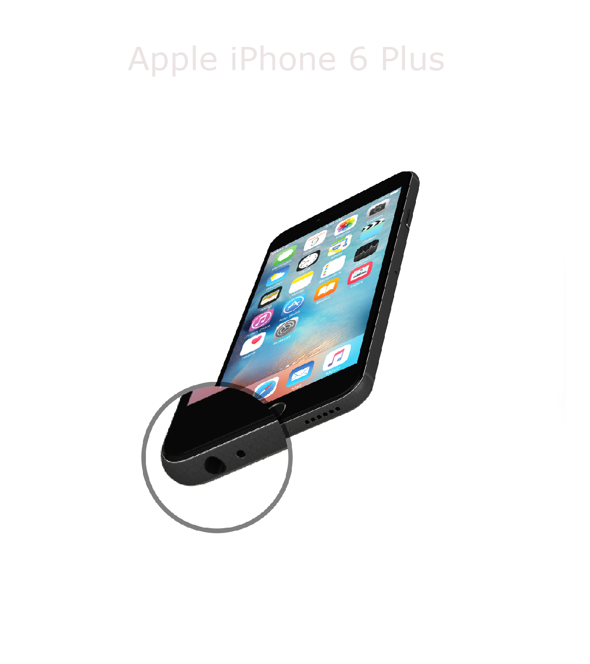 Laga mikrofon iPhone 6 plus