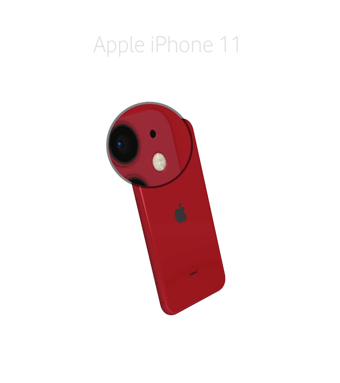 Laga mikrofon kamera iPhone 11