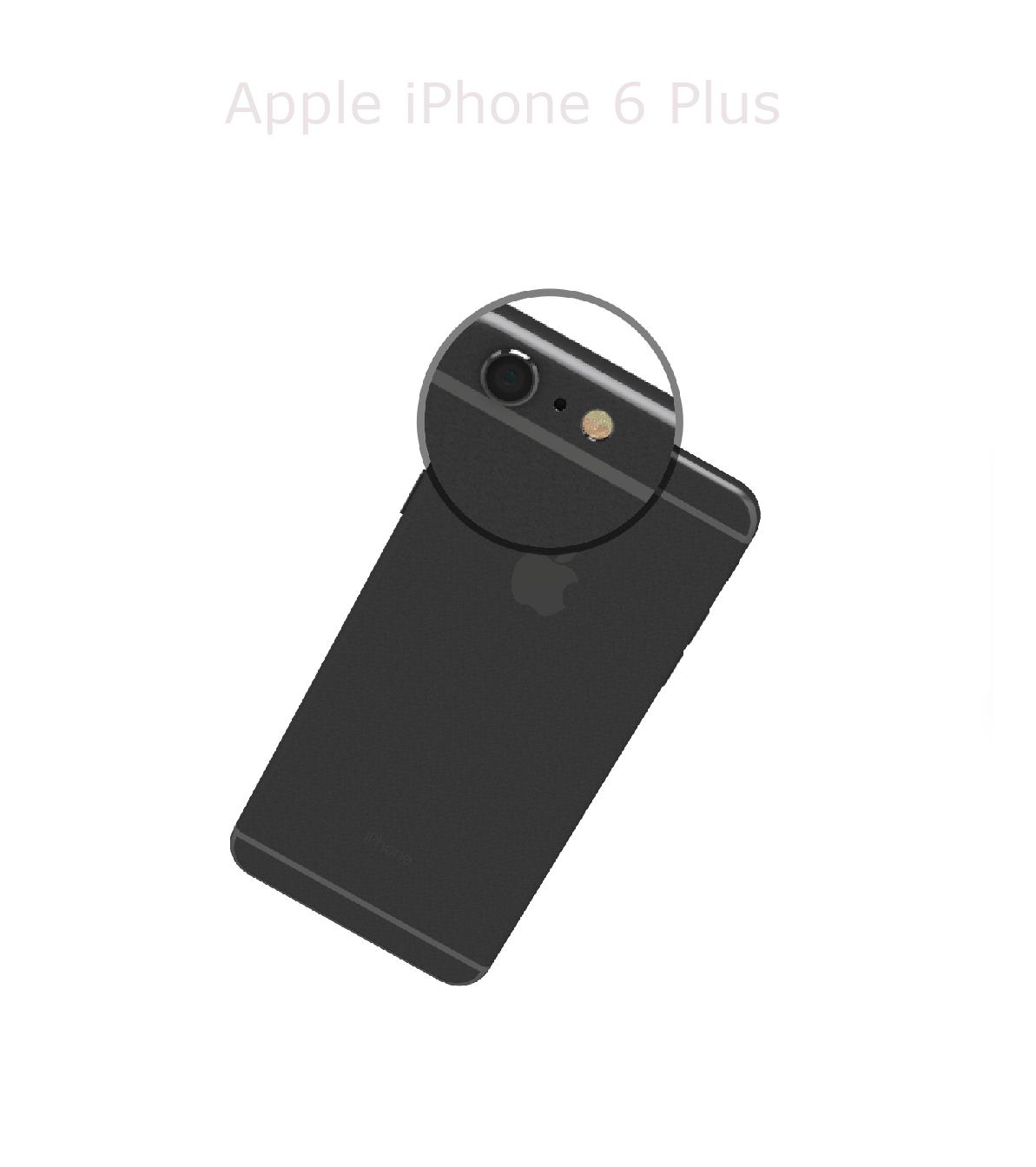 Laga kameralins iphone 6 plus