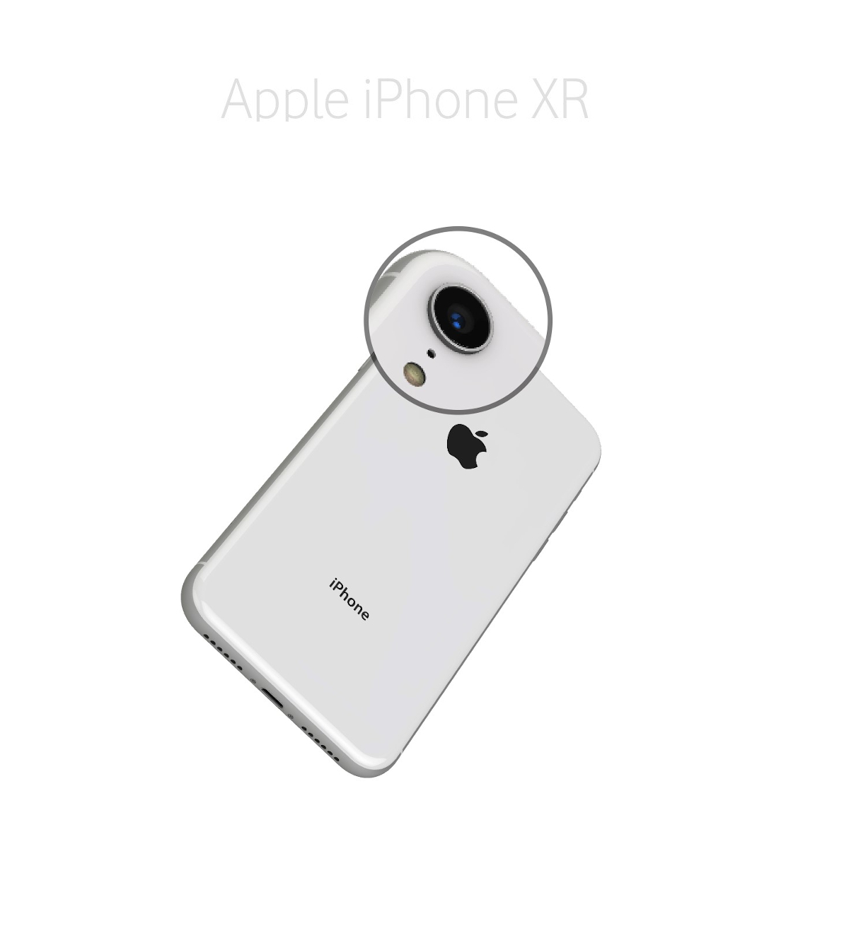 Laga mikrofon kamera iPhone XR