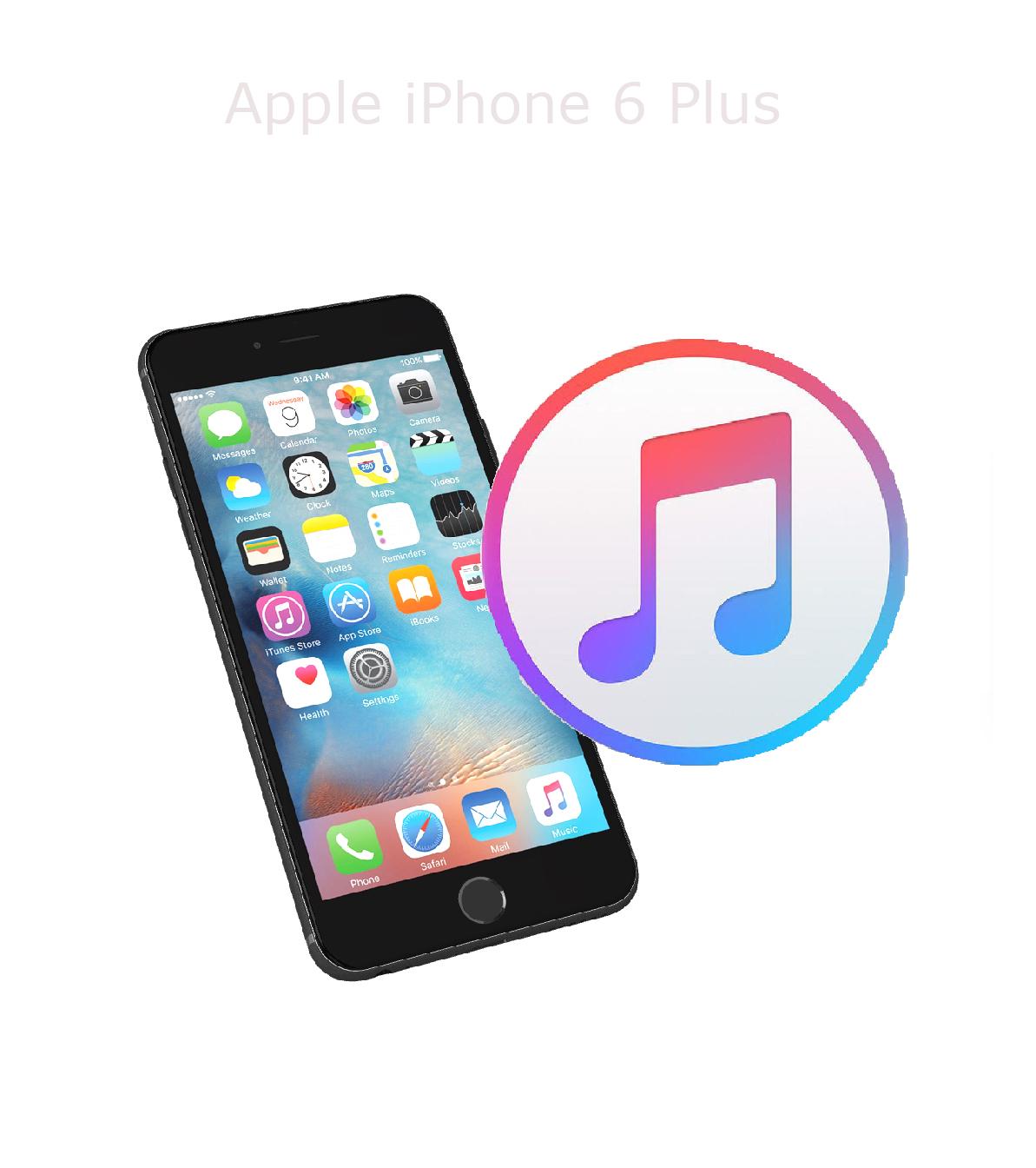 Mjukvara/Återställa iPhone 6 plus